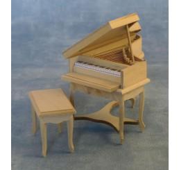 Piano met krukje