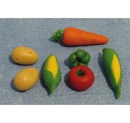 Diverse groenten, per 7 st.