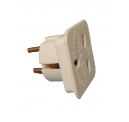 EU Adapter. 2-Pin Plug for DE005