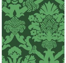 Poppenhuis behang Portia Tuscan groen