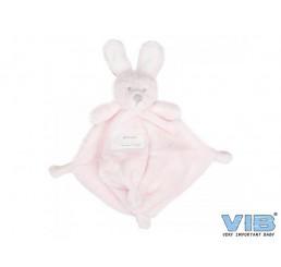 Pluche Konijn Very Important Rabbit Knuffeldoekje Roze