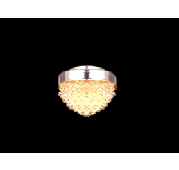 Plafondlamp zilverkleurig