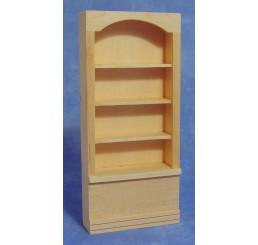 Plankenkast, blank hout