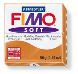 Fimo soft kleurnr 76, cognac,