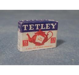 Tetley theezakjes, Vintage verpakking
