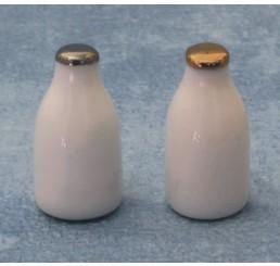 Melkflessen, 2 stuks