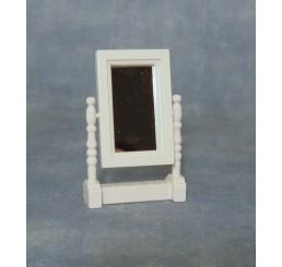 Witte verstelbare spiegel