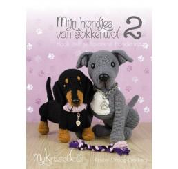 Boek Mijn hondjes van sokkenwol 2