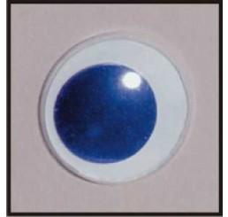 2 Aannaai wiebeloogjes blauw