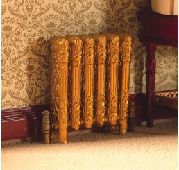 goudkleur radiator