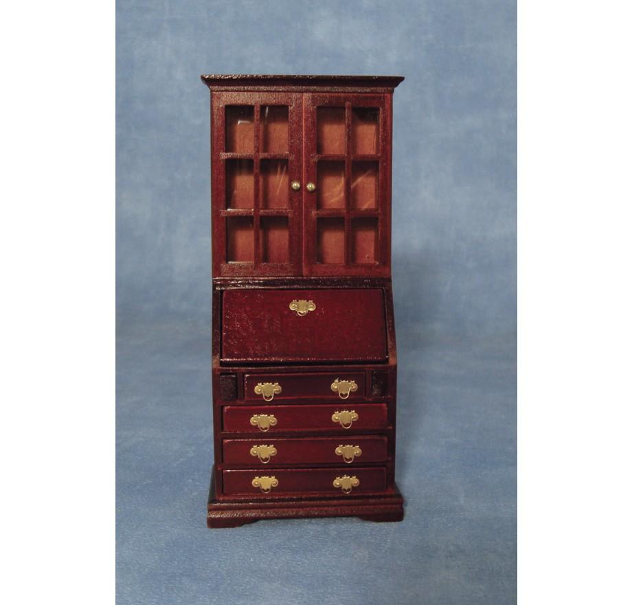 boekenkast bureau mahoniestreets ahead df1436