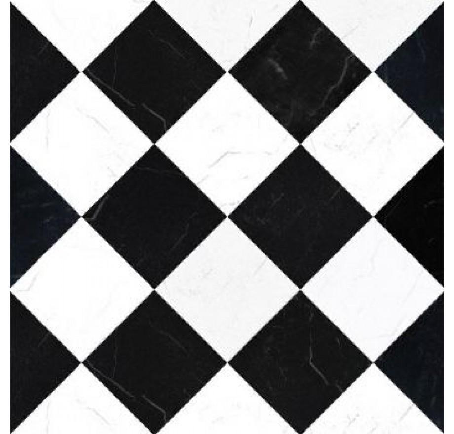 Uitgelezene zwart/wit vloer,Dolls House Emporium 5881 MY-14