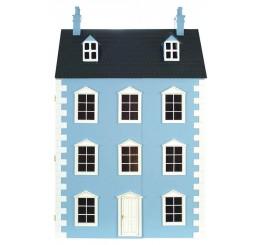 Dartmouth Poppenhuis blauw