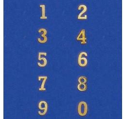 Huisnummer, 10 stuks