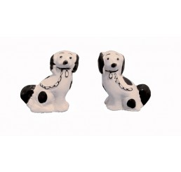 Honden, zwart wit