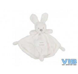 Pluche Konijn Very Important Rabbit Knuffeldoekje Wit