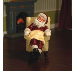 Slapende kerstman