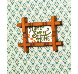 Schilderij Home Sweet Home