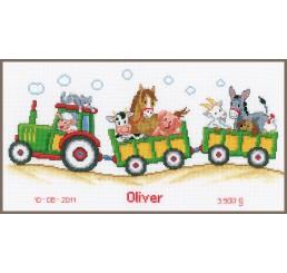 TP Tractor met dieren aida