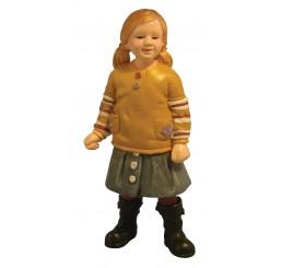 Klein meisje in rok