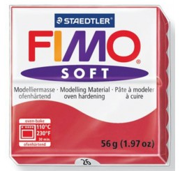 Fimo soft kersrood