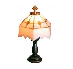 witte Tiffany tafellamp