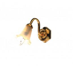 enkele tulp wandlamp