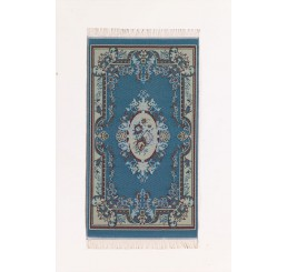 blauwe pers 17*10 cm