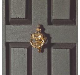 Decoratieve messing deurklopper