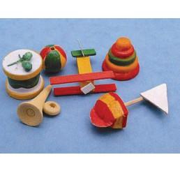 Speelgoedset, hout