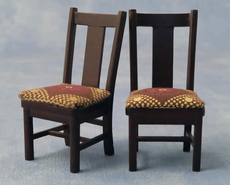 Eetkamer stoel, 2 stuks ,Babette Miniatures DF76155