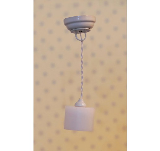 witte cylinder hanglamp led
