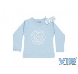 T-Shirt '100% Original Very Important Baby' Blauw