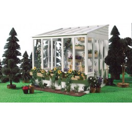 Greenhouse Conservatory, Fully Painted
