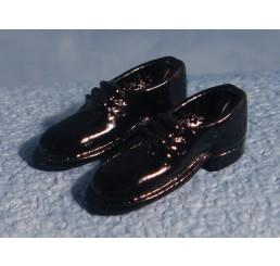 Herenschoenen, zwart, per paar