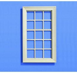 15 vaks groot raam blankhout