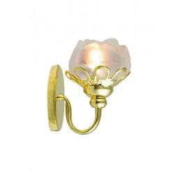 Wandlamp bloemmodel