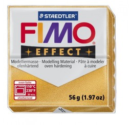 Fimo effect metallic goud