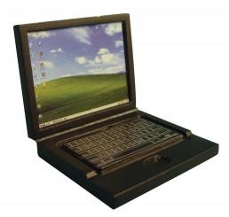 Zwarte laptop
