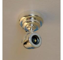 Zilveren spot (LED)