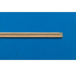 blank houten afwerk latjes per 6