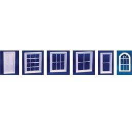 Victoriaans raam met 6 ruiten