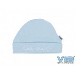 Muts Rond 'Baby Boy' Blauw