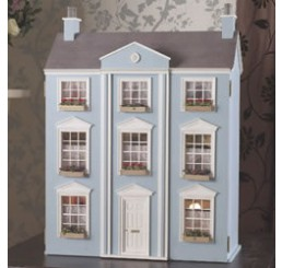 Classical poppenhuis, ongeschilderd