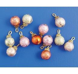 Kerstballen, 12 stuks