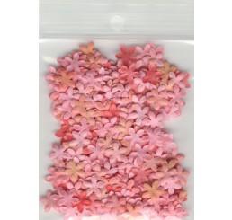 Decoratie bloemetjes 7mm roze