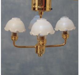Hanglamp, met 4 bollen LED
