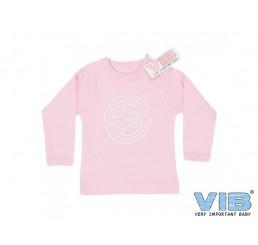 T-Shirt '100% Original Very Important Baby' Roze