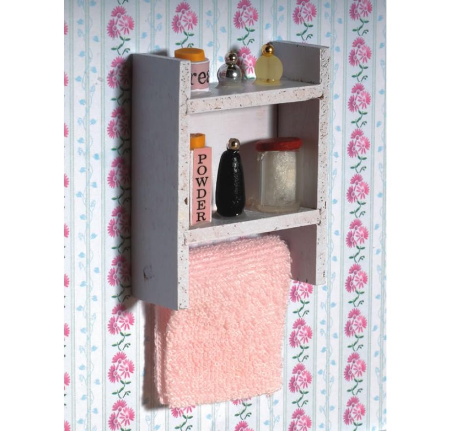 Kastje Voor In De Badkamer.Wit Badkamer Kastje Dolls House Emporium 5900