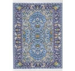 Vloerkleed blauw 31cm x 20cm